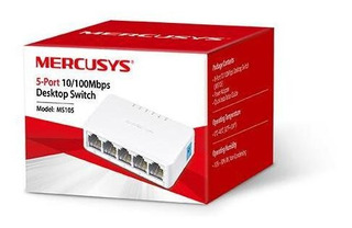 Switch De Escritorio 5 Puertos Gigabit Ms105 Mercusys