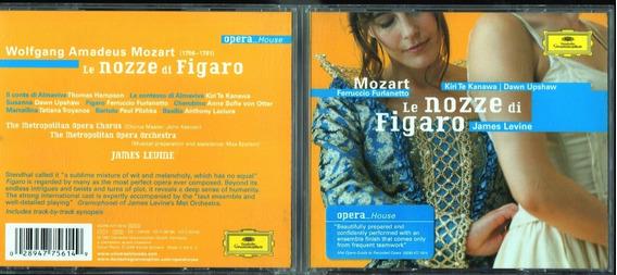 Cd Le Nozze Di Figaro Te Kanawa /upshaw/james Levine 3disc