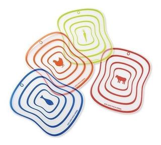 Set De 4 Tablas Colors