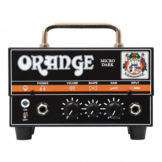 Orange Micro Dark Cabezal De 20w Con Preamp Valvular