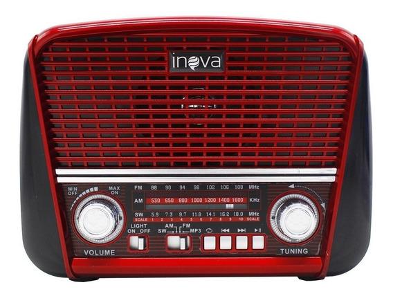Caixa De Som Rádio Retro Vintage Potente Bluetooth