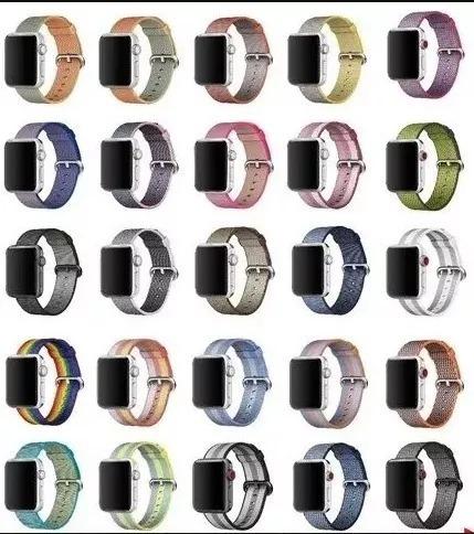 Pulseira Para Apple Watch Series 1/2/3 42/38mm Nylon