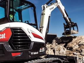 Excavadoras Bob Cat Nuevas 2018 Minicargador 320 Maquinaria