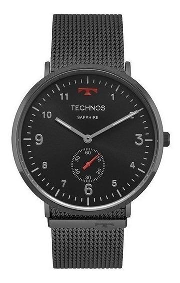 Relógio Technos Masculino Slim 1l45aw/4p Grafite