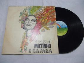 Lp Vinil - Elza Miltinho E Samba - Mpb