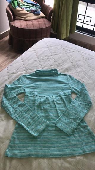 Linda Blusa Azul Para Niña Talla: Xxs / Nuevo