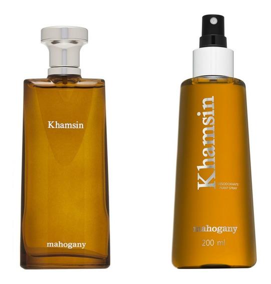 Kit Mahogany Khamsin: Colonia E Desodorante