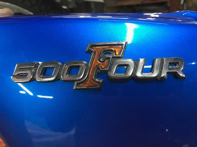 Honda Cb 500 Four Scrambler