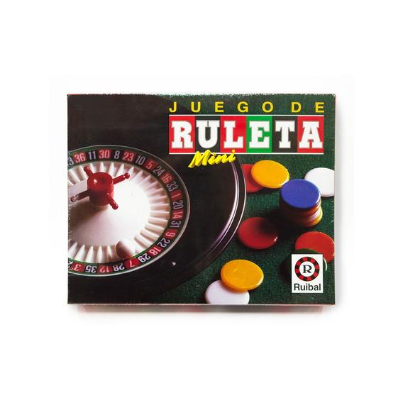 Juego De Ruleta Mini Original Ruibal