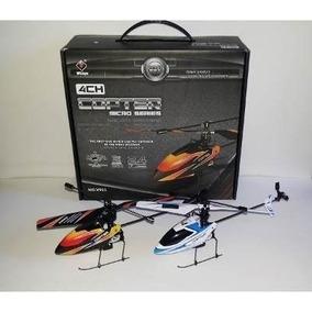Helicoptero V911 Completo 4ch - Controle 2.4ghz - Original.