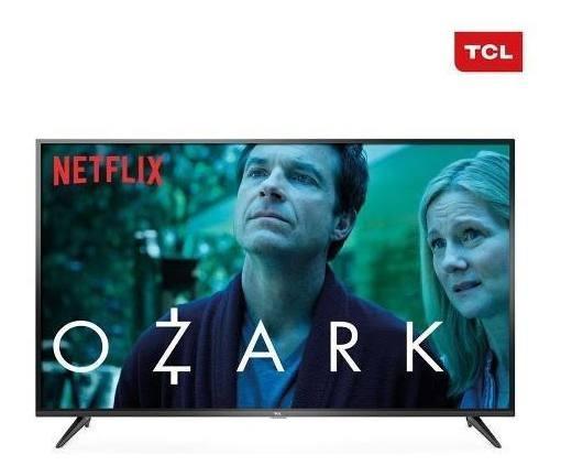 Smart Tv Led 55 Polegadas Tcl P65us Ultra Hd 4k Hdr 55p65us