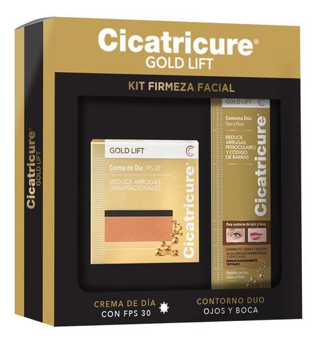 Imagen 1 de 9 de Pack Cicatricure Gold Crema Día 50g + Contorno Duo 15ml