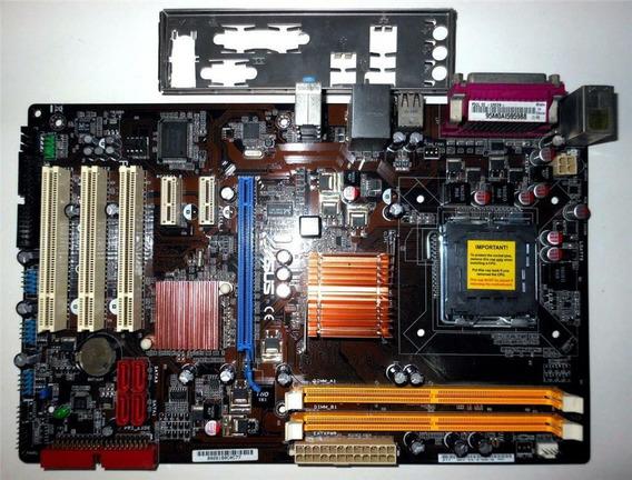 Placa Mãe 775 Asus P5ql-se Intel Suporta Xeon Quad Core 771