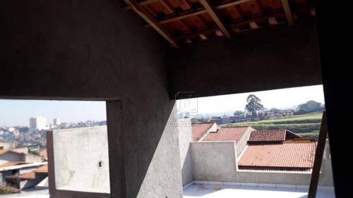 Imagem 1 de 20 de Cobertura Com 2 Dormitórios À Venda, 82 M² Por R$ 270.000,00 - Parque Gerassi - Santo André/sp - Co4932