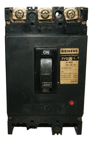 Totalizador 40 Amp - 3vq56 Siemens  Cod. 01825