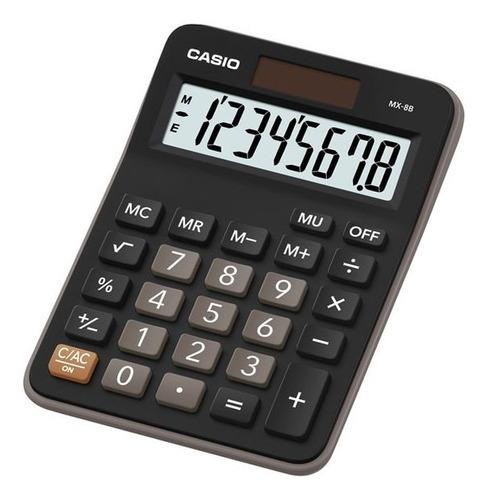 Calculadora Casio Escritorio Mx-8b