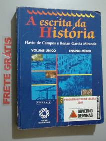 Livro A Escrita Da História