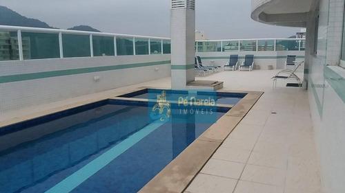 Apartamento Com 2 Dormitórios À Venda, 101 M² Por R$ 470.000,00 - Canto Do Forte - Praia Grande/sp - Ap0892