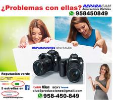 Tecnico Reparar Foto Camaras Gopro Lentes Filmador
