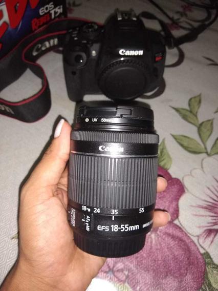 Câmera Fotográfica Canon T5i Com Lente 18-555