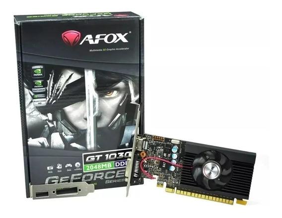 Placa Video Geforce Gt 1030 2gb Gddr5 Hdmi Dvi Gamer
