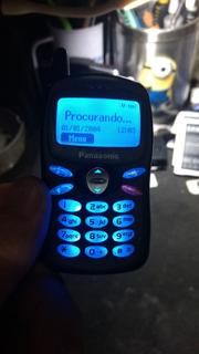 Lote 2 Celulares Panasonic Mini A100 Ler Descrição 5/18