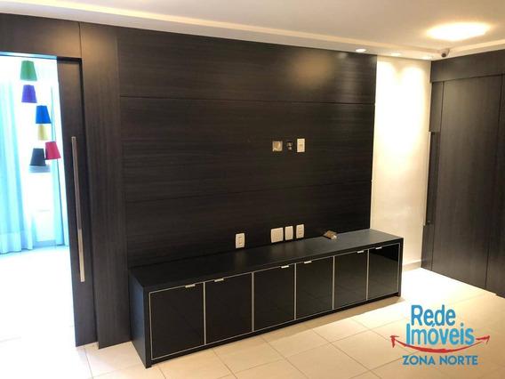 Excelente Com 3 Quartos Para Alugar, 98 M² Por R$ 4.800 + Taxas Mês - Boa Viagem - Recife/pe - Ap10078