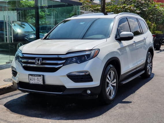 Honda Pilot 2016 Touring Factura De Agencia Impecable!!