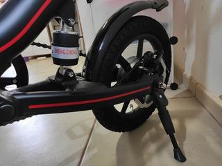 Bicicleta Elétrica Way Com Pedal Ate 35km - 4 Meses Uso