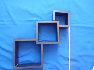 Estante De Cubos Flotantes 3 Piezas Nunca Instalados