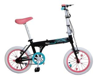 Bicicleta Plegable Bia Disney Rodado 16