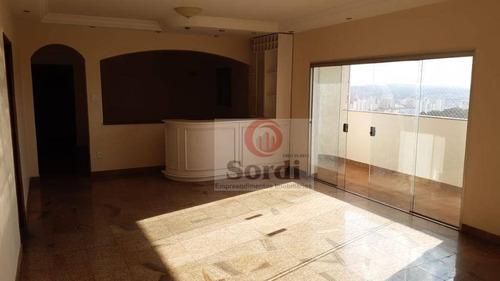 Apartamento Com 3 Dormitórios À Venda, 247 M² Por R$ 330.000 - Jardim Paulistano - Ribeirão Preto/sp - Ap2944