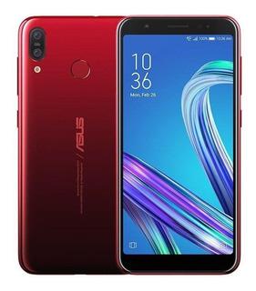 Celular Asus Zenfone Max M3 Zb555 Dual 64gb 4gb Ram Vermelho