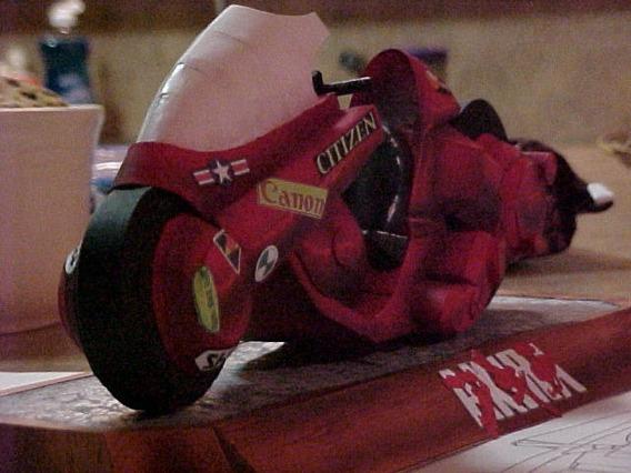 Papercraft Moto Kaneda Icone +10mil Brindes!