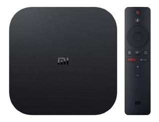 Xiaomi Mi Box S 4k Android Tv Caja Original Envio Cuotas