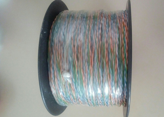 Cable Telefónico De 5 Hilos, Bobina De 305mts