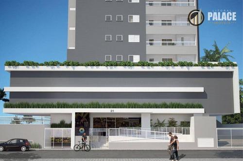 Apartamento Residencial À Venda, Maracanã, Praia Grande - . - Ap1568