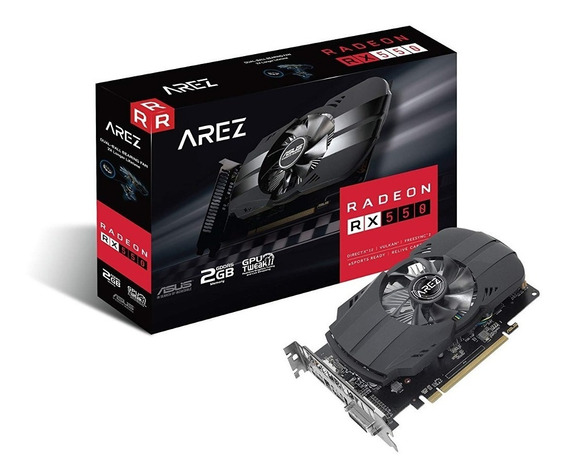 Placa De Video Asus Pcie Arez Phoenix 2gb Ddr5