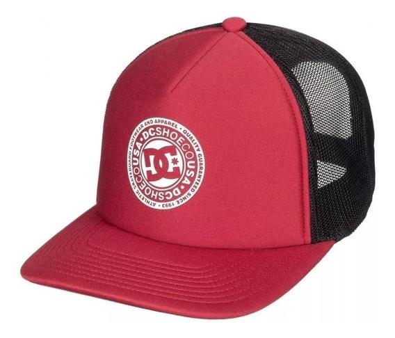 Dc Gorra Hombre Cap Vested Up Rojo - Negro