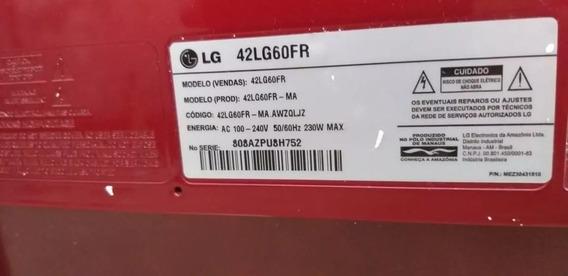Tv Lg 42 Scarlet 42lg60fr S/base.