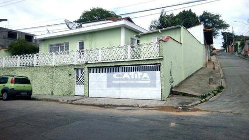 Imagem 1 de 7 de Casa Com 2 Dormitórios À Venda, 90 M² Por R$ 390.000,00 - Vila Aurea - São Paulo/sp - Ca3944