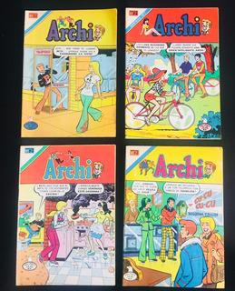 Comic Archi, Editorial Novaro Y Vid, Años 70