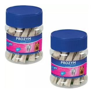 Palitos Mastigáveis Prozym Sticks 14 Unidades - 2 Frascos
