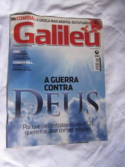 A Guerra Contra Deus - Galileu N° 186