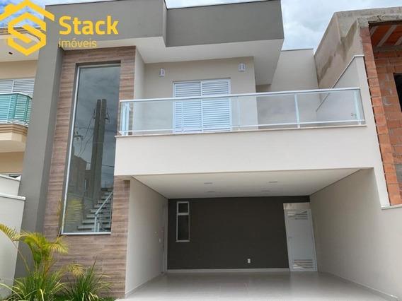 Casa Nova Com 3 Dormitórios, À Venda No Condomínio Reserva Da Mata No Bairro Corrupira Em Jundiaí/sp. - Ca01482
