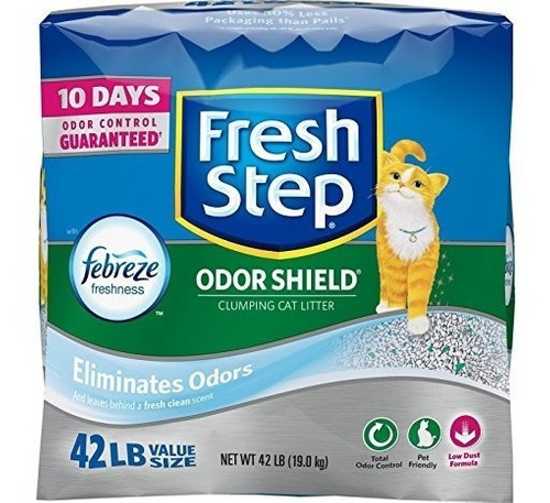 Arena Gatos Fresh Step 19k42l Febreze 10dianolor