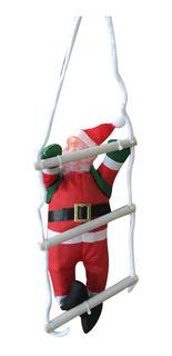 Papá Noel 25cm En Escalera