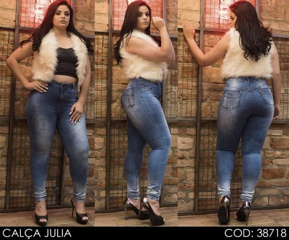 Calça Jeans Feminina Plus Size - Julia (38718)