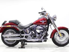 Harley Davidson - Softail Fat Boy - 2017 Vermelho