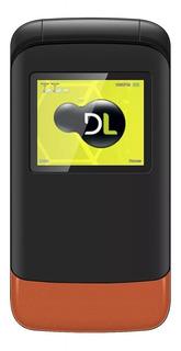 Telefone Celular Yc230 Flip Dl 2chip Bom Idoso Teclado Grand